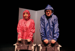Sarah Earnshaw and Joe Pasquale in April in Paris