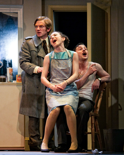 John Dorney (Geoffrey Jackson) Felicity Houlbrooke (Jane Hopcroft) and Paul Sandys (Sidney Hopcroft)