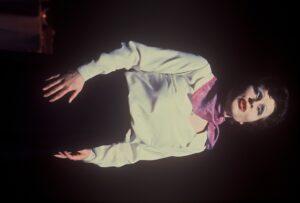 Imelda Staunton playing Piaf at Nottingham Playhouse in 1981